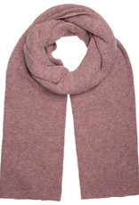 With love Scarf  Knitted - Dusty Pink