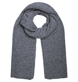 With love Scarf  Knitted - Navy