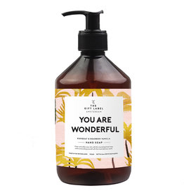 The Gift Label Hand soap  500 ml. - You are wonderful