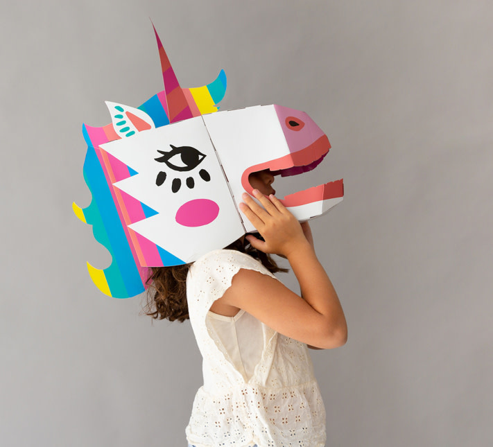OMY OMY 3D mask- Lily
