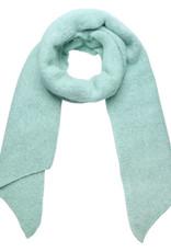 With love Scarf  comfy winter - aqua