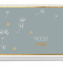 Enfant Terrible Enfant Terrible card + enveloppe 'Troost & liefs'