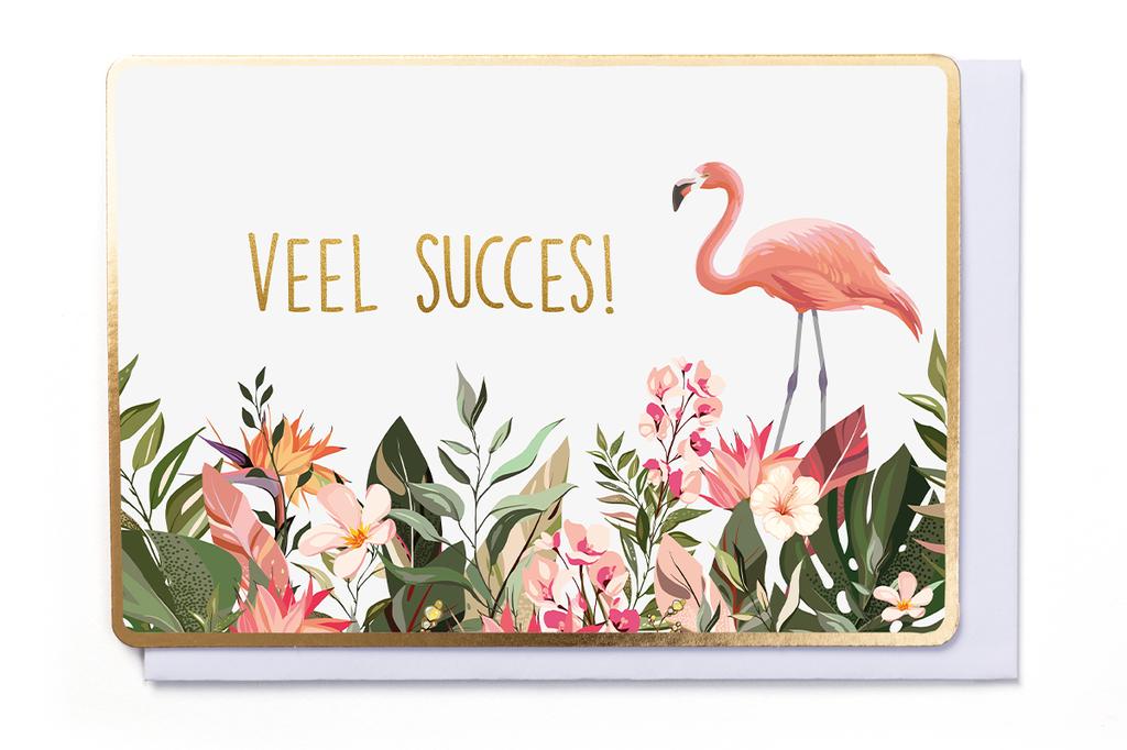 Enfant Terrible Enfant Terrible card  + enveloppe 'Veel Succes'