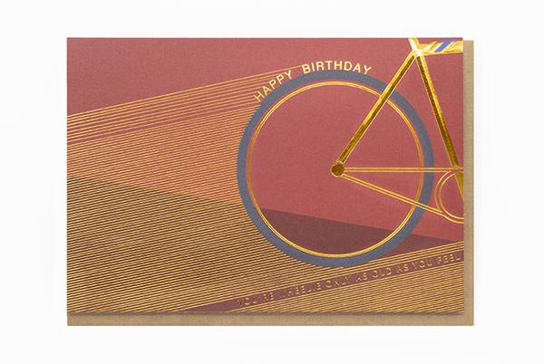 Enfant Terrible Enfant Terrible card  + enveloppe 'You're wheelie only as old as you feel'