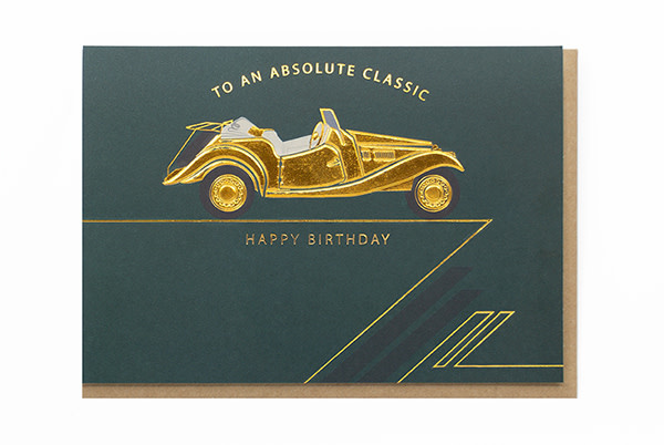 Enfant Terrible Enfant Terrible card  + enveloppe 'To an Absolute Classic Happy birthday'