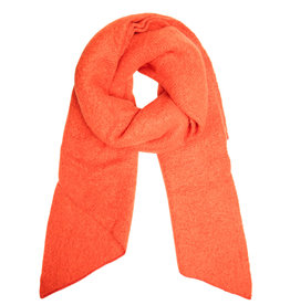 With love Scarf comfy winter - orange