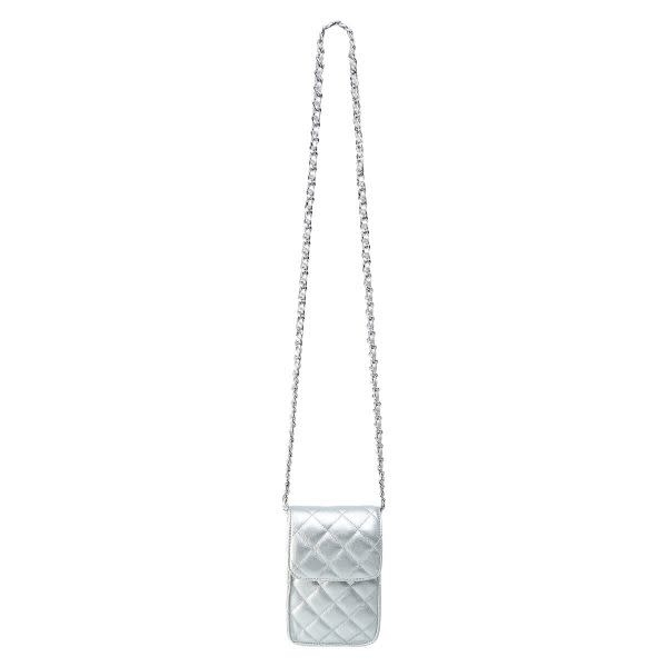 With love Bag on me - Silver 11.50cm x 19cm x 4cm