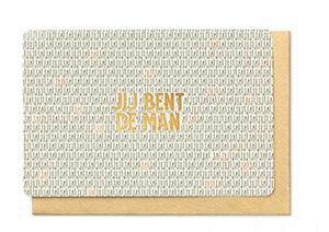 Enfant Terrible Enfant Terrible card  + enveloppe 'Jij bent de man'