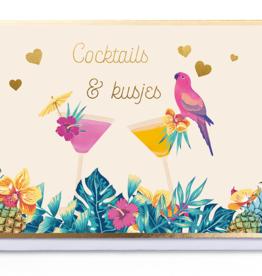 Enfant Terrible Enfant Terrible card  + enveloppe 'Cocktails & kusjes