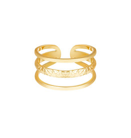 With love With Love ring - Layers - gold