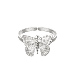 With love With Love ring - Butterfly silver