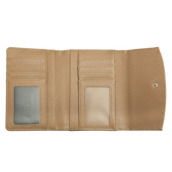 With love Folded wallet taupe 15cm x 10.50cm