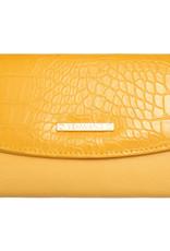 With love Folded wallet ochre 15cm x 10.50cm