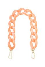 With love Bag cord Lola - coral 34 cm