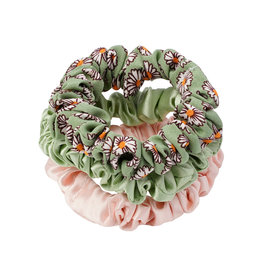 With love Scrunchie set  Lovely - green