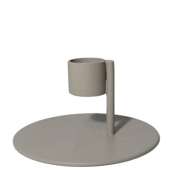 Branded By Candle holder 6 cm Lina Taupe