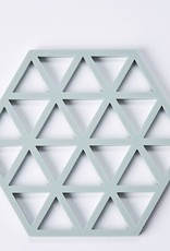 Zone Denmark Rubber pot holder triangles - mint