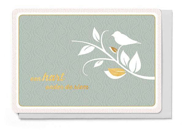 Enfant Terrible Enfant Terrible card  + enveloppe 'Hart onder de riem'