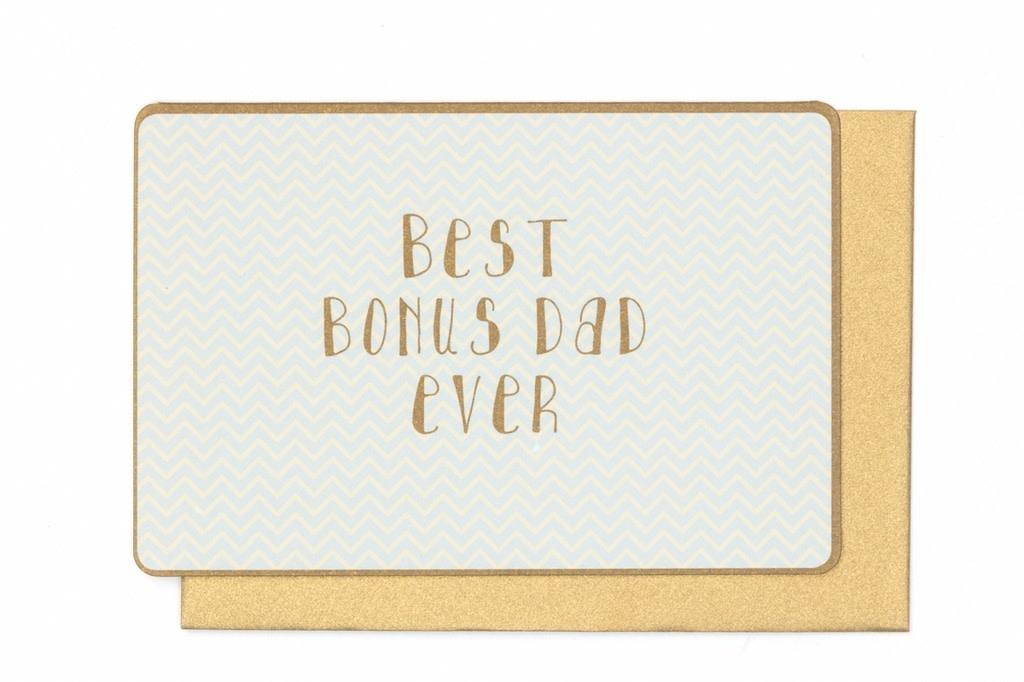 Enfant Terrible Enfant Terrible card  + enveloppe 'Best bonusdad ever'