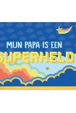 Enfant Terrible Enfant Terrible card + enveloppe 'Mijn papa is een superheld'
