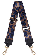 With love Bag strap -panther blue