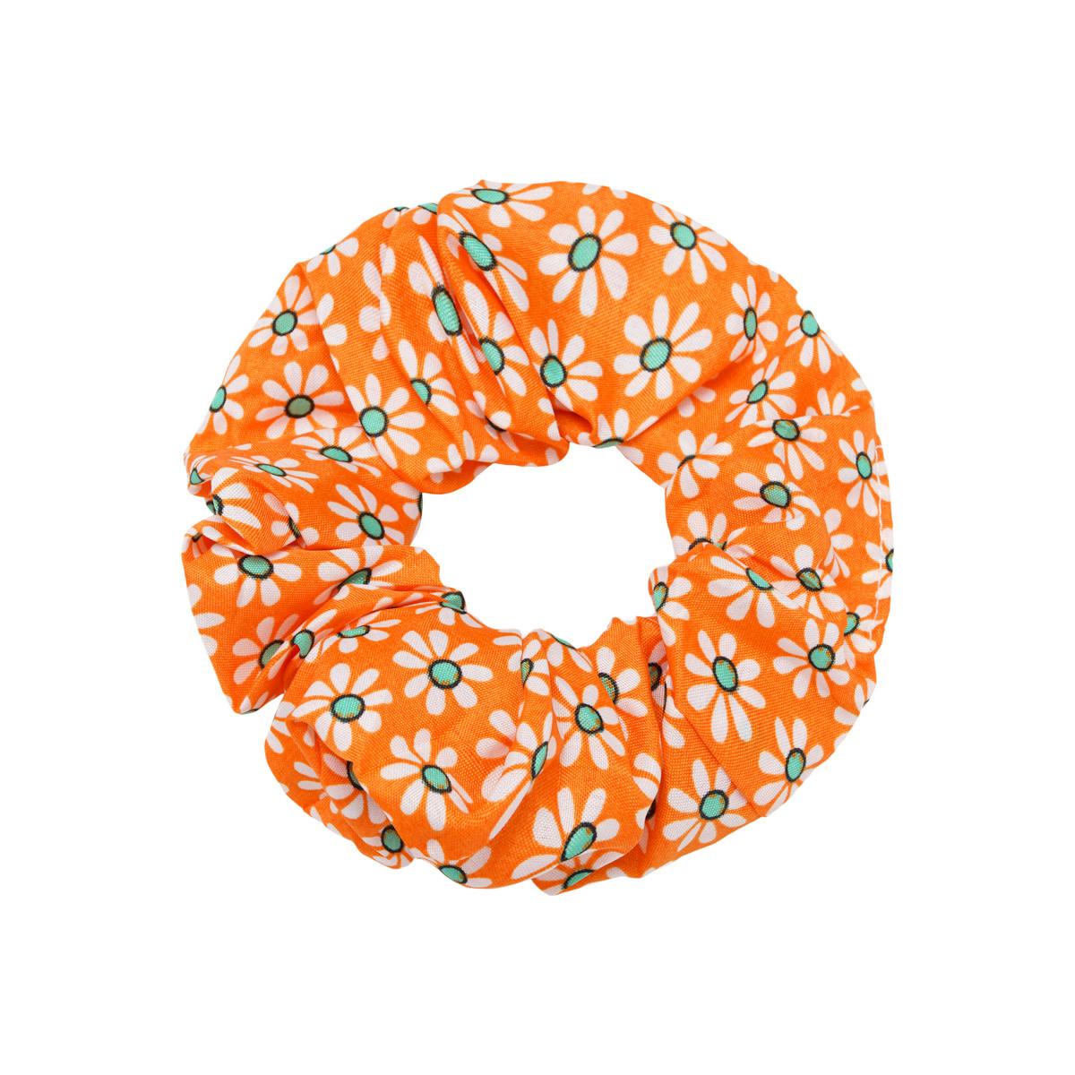With love Scrunchie Flora orange