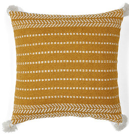 Liv Interior PET outdoor cushion Misaki Honey Gold 45 x 45 cm