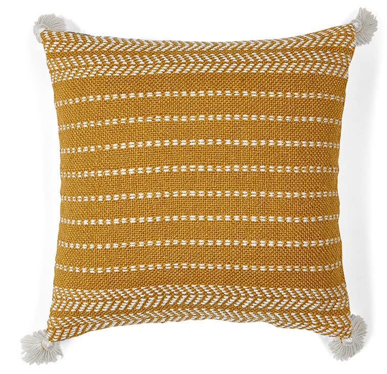 Liv Interior PET outdoor cushion Misaki Honey Gold 45 x 45 cm