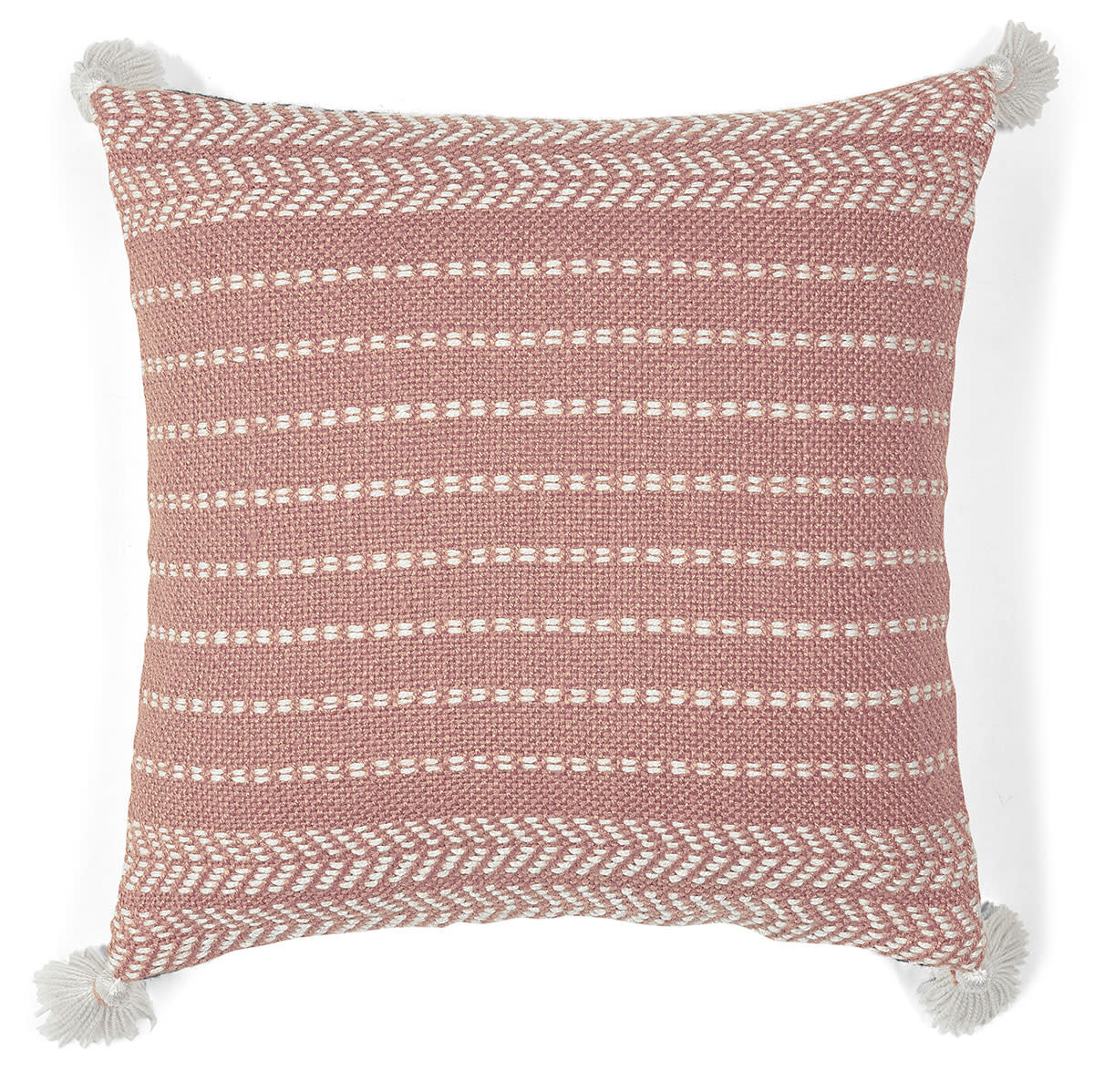 Liv Interior PET outdoor cushion Misaki Mauve 45 x 45 cm