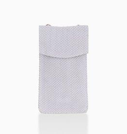 Détail Détail Charm phone bag - lavender lizard 10 x 19 cm
