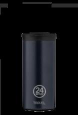24Bottles 24Bottles travel tumbler 600 ml. Deep blue