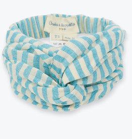 Arsène et les Pipelettes Striped headband girl - one size