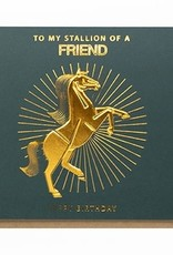 Enfant Terrible Enfant Terrible card  + enveloppe 'To my stallion of a friend'
