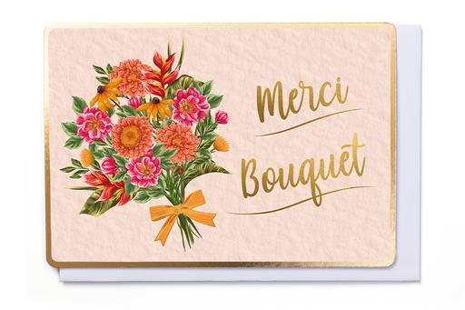 Enfant Terrible Enfant Terrible card  + enveloppe 'Merci bouquet'