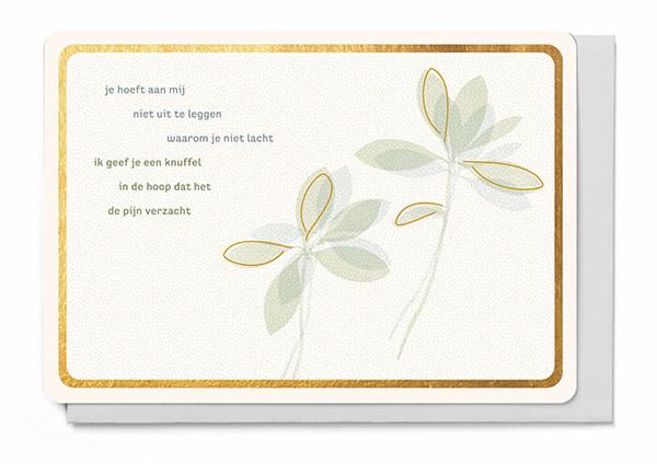 Enfant Terrible Enfant Terrible card + enveloppe 'Je hoeft aan mij niet uit te leggen'