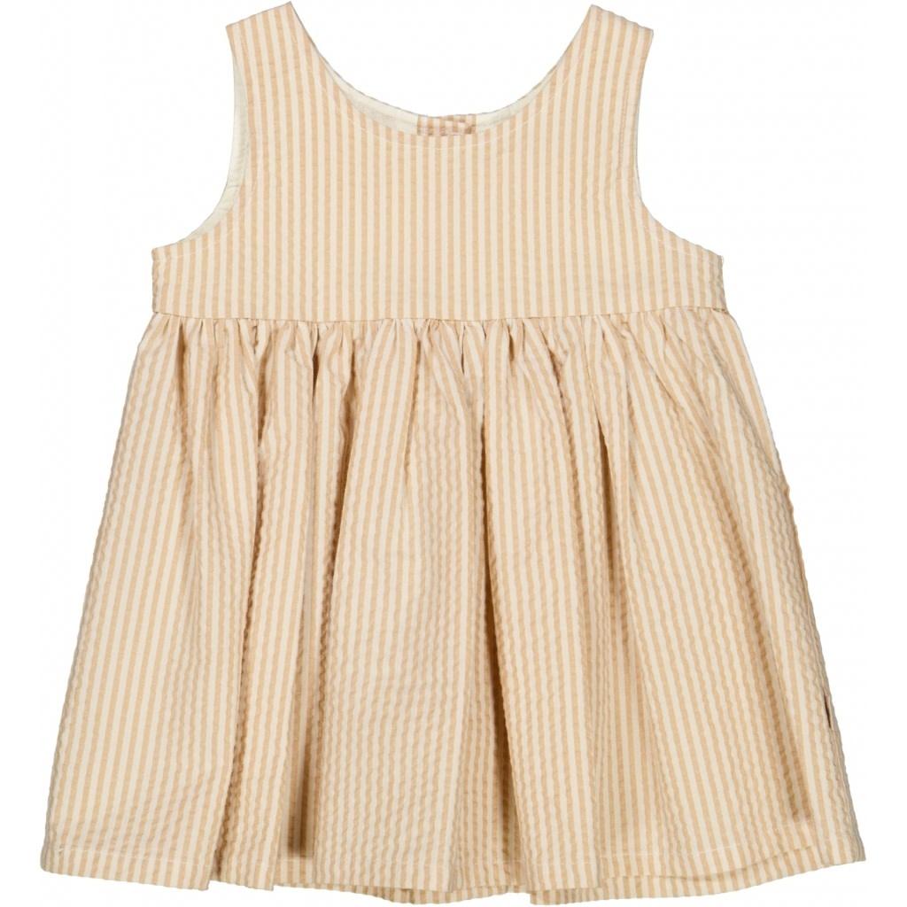 Wheat Pinaflora wrinkles - taffy stripe