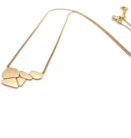 Nadja Carlotti Silver necklace Cascade