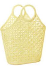 Sun Jellies Atomic tote - yellow 40x46x16cm