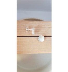 Katwalk Silver Silver earrings double dot (SEMF30335)