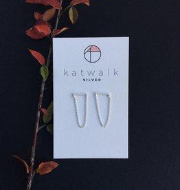 Katwalk Silver Silver earrings chains