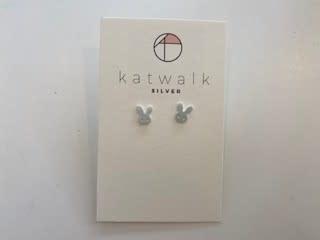 Katwalk Silver Silver earrings bunny (SEMF24573)