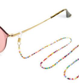 With love Sunglasses cord gold - multicolor 80 cm x 2.5 mm