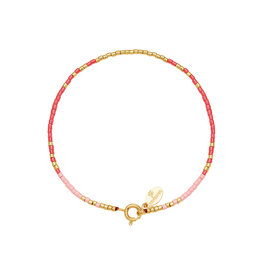With love Bracelet delicate pink