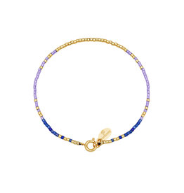 With love Bracelet delicate lilac