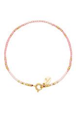 With love Bracelet delicate light pink