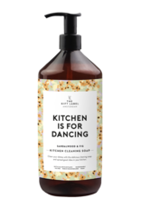 The Gift Label Kitchen cleaning soap 1 L - Kitchen is for dancing
