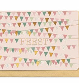 Enfant Terrible Enfant Terrible card + enveloppe 'feest'