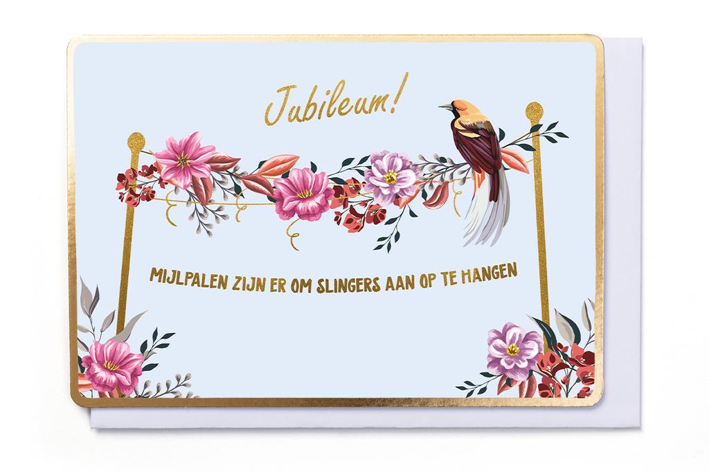 Enfant Terrible Enfant Terrible card  + enveloppe 'Jubileum!'