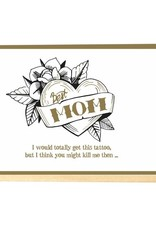 Enfant Terrible Enfant Terrible card + enveloppe 'Best mom'