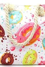 With love Beach bag - donuts 44 x 38 x 15cm